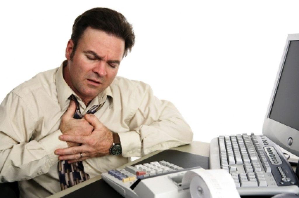 тошнота и боль в эпигастральной области